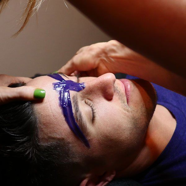 mens eyebrow waxing